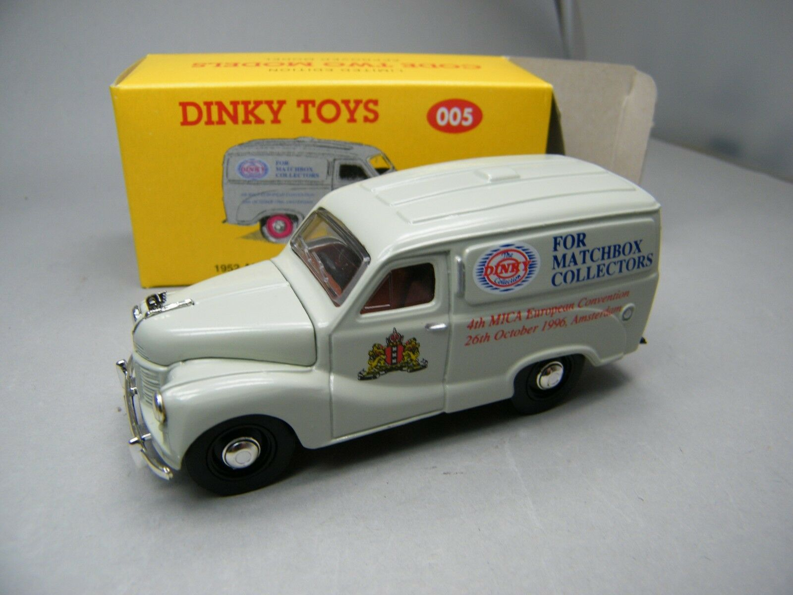 Matchbox MOY c2 Dinky 005 Delivery Van 1996 from m2 Set Very Rare Boxed k13