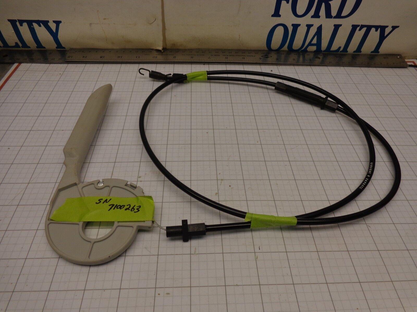 Pargo OEM nos 7100263 Cable Del Embrague Con Manija de palanca de control 7100261