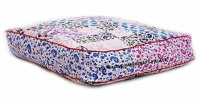 Oversized Outdoor Daybed Mandala Indian Square Floor Pillow Cover Bohemian Pouf