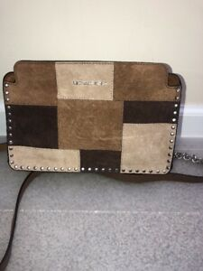 b50478e6795b Image is loading Michael-Kors-268-NWT-Astor-Suede-Leather-Crossbody-