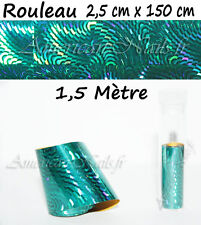 ROULEAU Foils Nail Art Foil ongle Paon Fantaisie 150cm