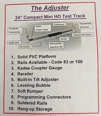 Kadee HO Scale # 341 Track Gauge for Code 70 /& Code 100