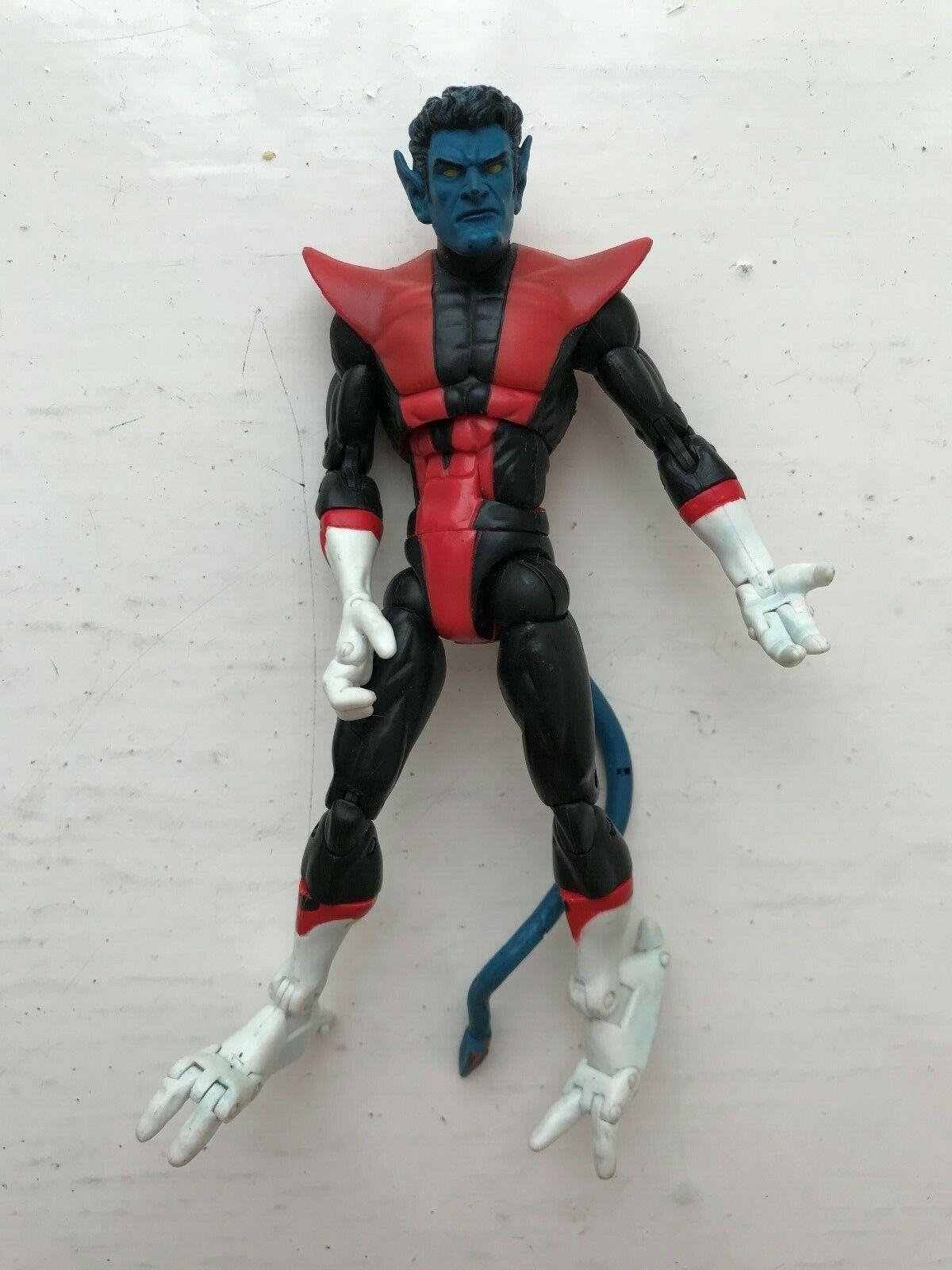 MARVEL LEGENDS X-MEN X-MEN GALACTUS SERIES NIGHTCRAWLER ACTION FIGURE TOY BIZ 2005