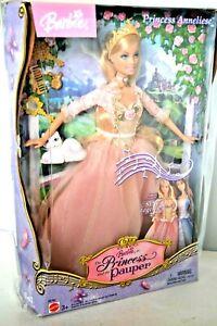 Barbie-Princesse-et-The-Pauper-Qui-Chante-Princesse-Annaliese-Poupee-Emballe