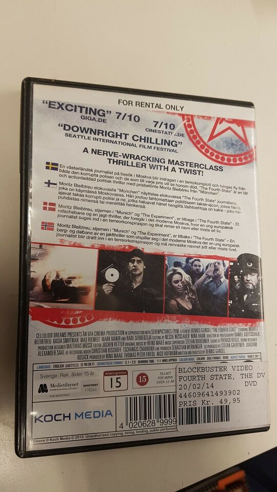 The fourt state, DVD, thriller