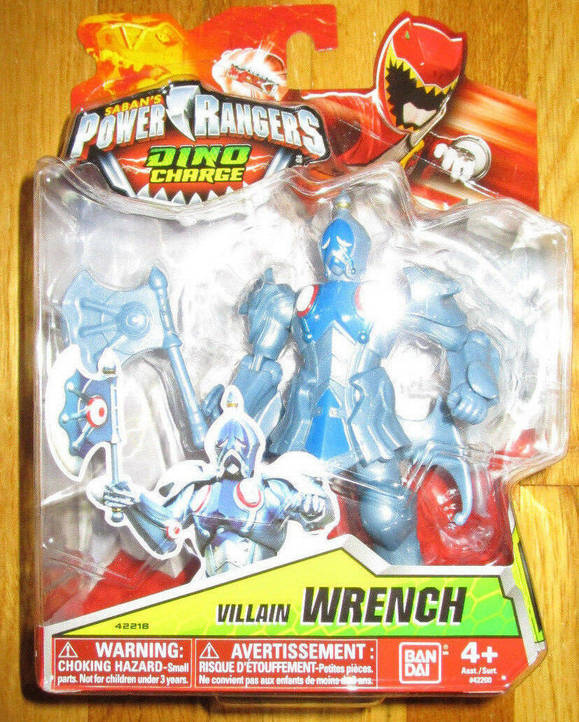 POWER RANGERS DINO CHARGE VILLAIN WRENCH figure 42218