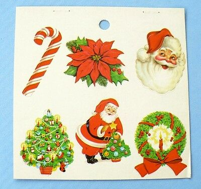 Vintage Eureka Stickers Christmas Mint Condition!!