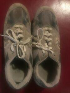 New-Balance-991-MEN-039-S-RUNNING-SHOES-M991GL-Men-s-Sz-14-2E-Sneakers-Gray-Inserts