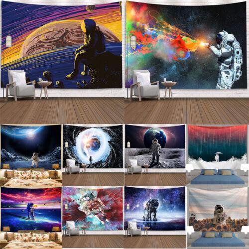 Espaço Spaceman Galaxy Pendurar Parede Arte Tapeçaria Sala Quarto Dormitório Decoração
