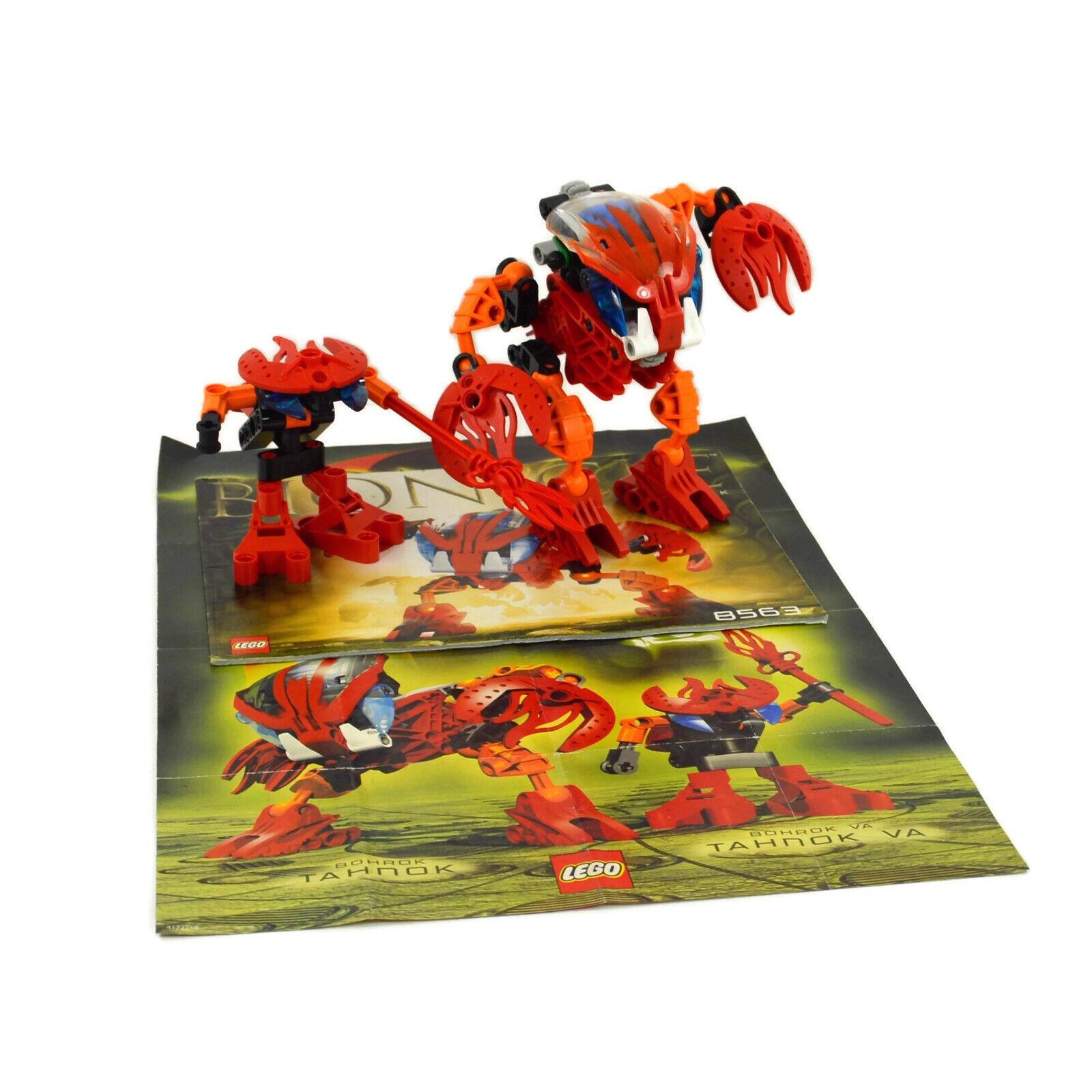 LEGO Bionicle Bohrok Tahnok  and Tahnok Va Complete with Instructions No Box