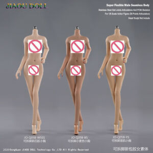 "JIAOU DOLL 1//6 Girl Body Model Seamless Flexible 12/"" Action Figure Small Bust"