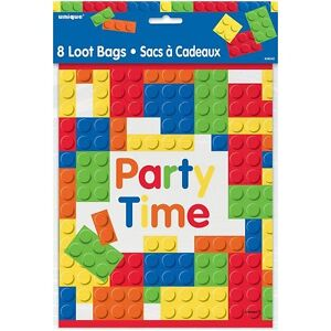 Image Is Loading Lego Blocks Theme Kids Birthday Party Supplies Loot