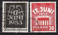 Germany / Berlin - 1953 Revolt east-Berlin & DDR - Mi. 110-11 VFU