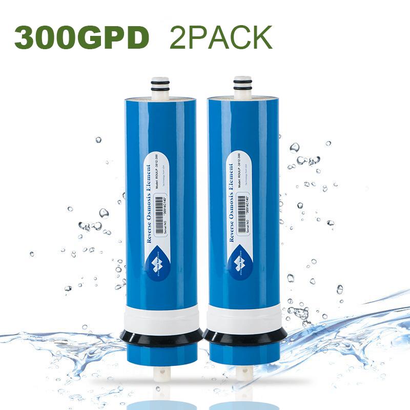 300GPD Osmose Inverse Membrane RO Filtre à Eau haute précision Grande demande 2pcs
