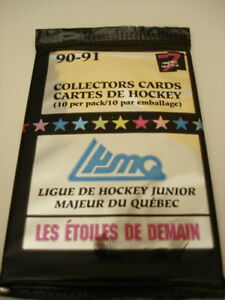 1990-91-7th-Inning-Stretch-QMJHL-Hockey-3-Packs-Of-Cards-10-Cards-per-Pack