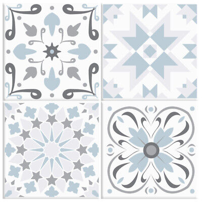 Vintage Tile Stickers Transfers Traditional 150mm x 150mm Kitchen Custom Size T3