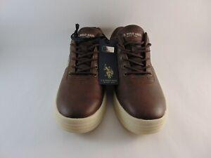U-S-Polo-Assn-Men-039-s-Shoes-Color-Brown-Size-10