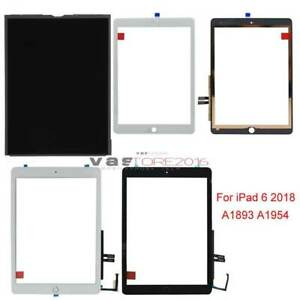 Tools A1893 A1954 Touch Screen Digitizer Replacement iPad 6th Gen 2018 Ver