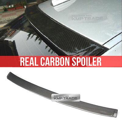 Real Carbon Fiber Rear Window Roof Spoiler For BMW 2006-2012 3Series E90 Sedan