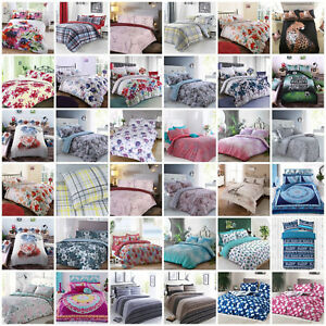 Duvet-Cover-with-Pillow-Case-Quilt-Cover-Bedding-Set-Single-Double-amp-King-Size
