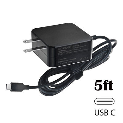 45W AC Charger Power Supply Adapter Cord For ASUS Chromebook C302 C302C C302CA
