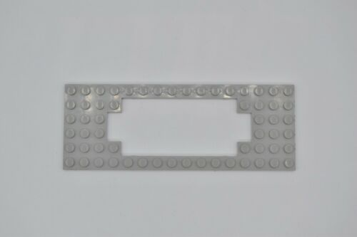 LEGO 1 x Eisenbahn Grundplatte für Motor 6x16 Waggon althell grau 4,5V 12V 3058