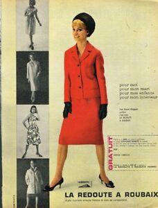 bc9bf405a666e4 Détails sur I - Publicité Advertising 1963 Vetement Tailleur La Redoute à  Roubaix
