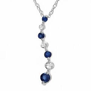 015 ct 10k white gold white diamond blue sapphire journey of life image is loading 0 15 ct 10k white gold white diamond aloadofball Images