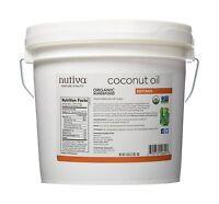 Nutiva Organic Coconut Oil Refined 1 Gallon Free Shipping