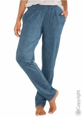Vivance Collection Homewear Wellnesshose Relaxhose Hose Blau Neu