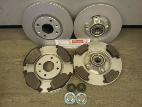 CITROEN C4 GRAND PICASSO FRONT /& REAR BRAKE DISCS AND PADS 1.6 1.8 2006-2014