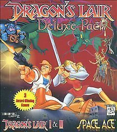 Dragon's Lair Deluxe Pack CD-ROM (PC, 1999) for sale online | eBay