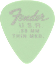 BLUE THIN 1 Gross Fender 351 California Clears Guitar Picks 144-Pack