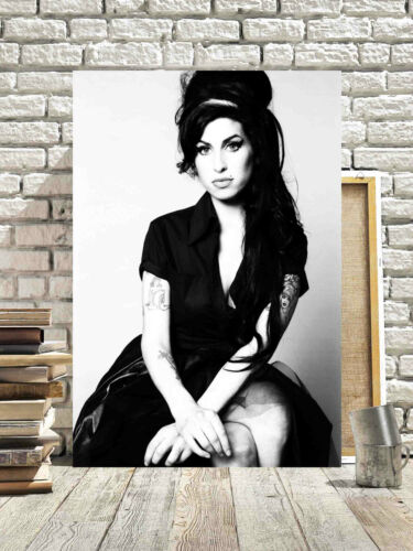FANTASTIC AMY WINEHOUSE CANVAS #7 QUALITY MUSIC CANVAS PICTURE A1 A3 FREE P/&P