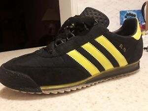 official photos 88092 e5793 Image is loading Adidas-SL-76-Black-and-Yellow-Rare-2003-