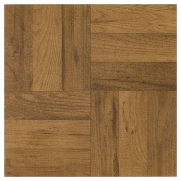 "Light Oak Plank Wood Self Stick Adhesive Vinyl Floor Tiles: 20 Vinyl Floor Tiles Nexus Self Adhesive 12x12"" Peel Wood"