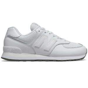 New-Balance-ML-574-SN-Herren-Sneaker-Leder-Schuhe-Turnschuhe-Sportschuhe
