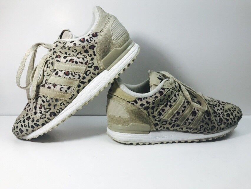 Adidas Men's Men's Adidas Sz 8.5 ZX 700 Originals Running Shoes Leopard Khaki/Black B34330 1489b3