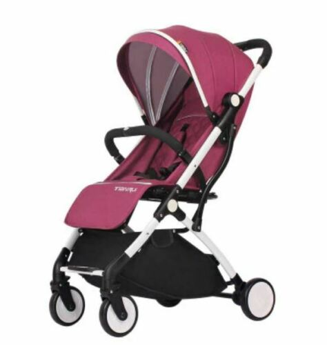 Foldable Waterproof Pushchair Pram Buggy Baby Stroller Lightweight with Hood NEW