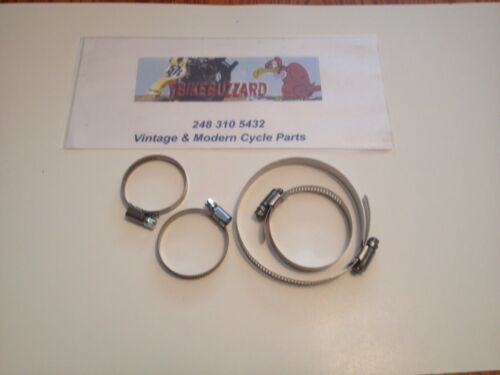 Maico Bing or Mikuni Carb Clamp SET for Airbox AND Intake Manifold NEW!