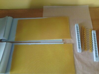 Beeswax Foundation Machine Foundation Press  Cooling Beekeeping Goods Equipment