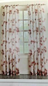 Sheer Voile Kiki C Fl Curtains