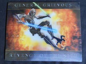 Rare 2005 Star Wars Revenge Of The Sith General Grievous Lenticular Poster New Ebay