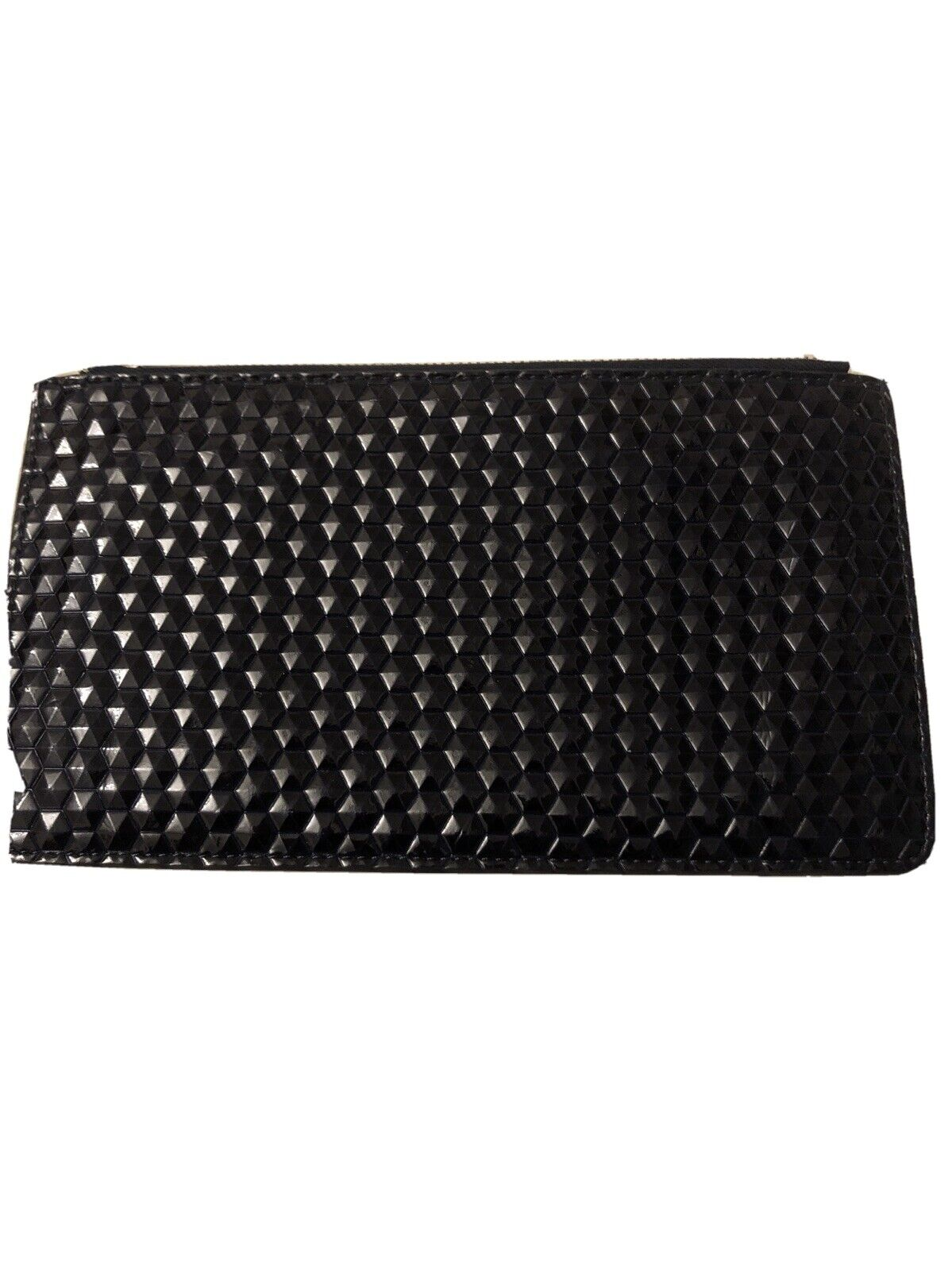 Oliver Bonas Zipped Wallet / Purse New , Quilted