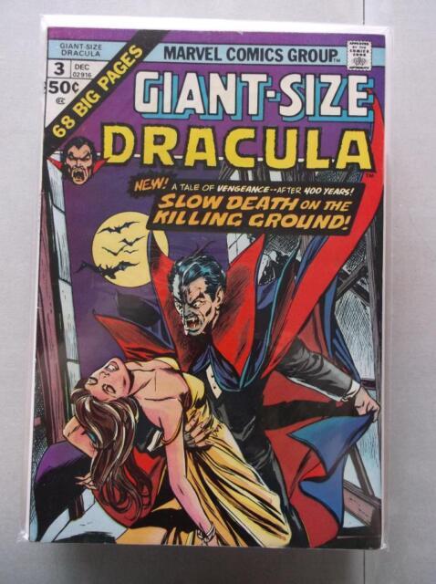 Giant-Size Dracula (1974-1975) #3 VF-