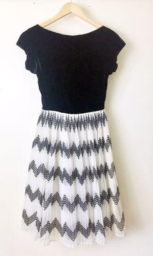 Vtg Naturally Natlynn New York Dress Sz Xs/Sm Blac