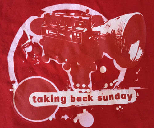 VTG 2005 Taking Back Sunday Band Shirt, 'Video Cam