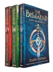The-Belgariad-David-Eddings-3-Books-In-Order-Fantasy-Pawn-of-Prophecy-Teen-New
