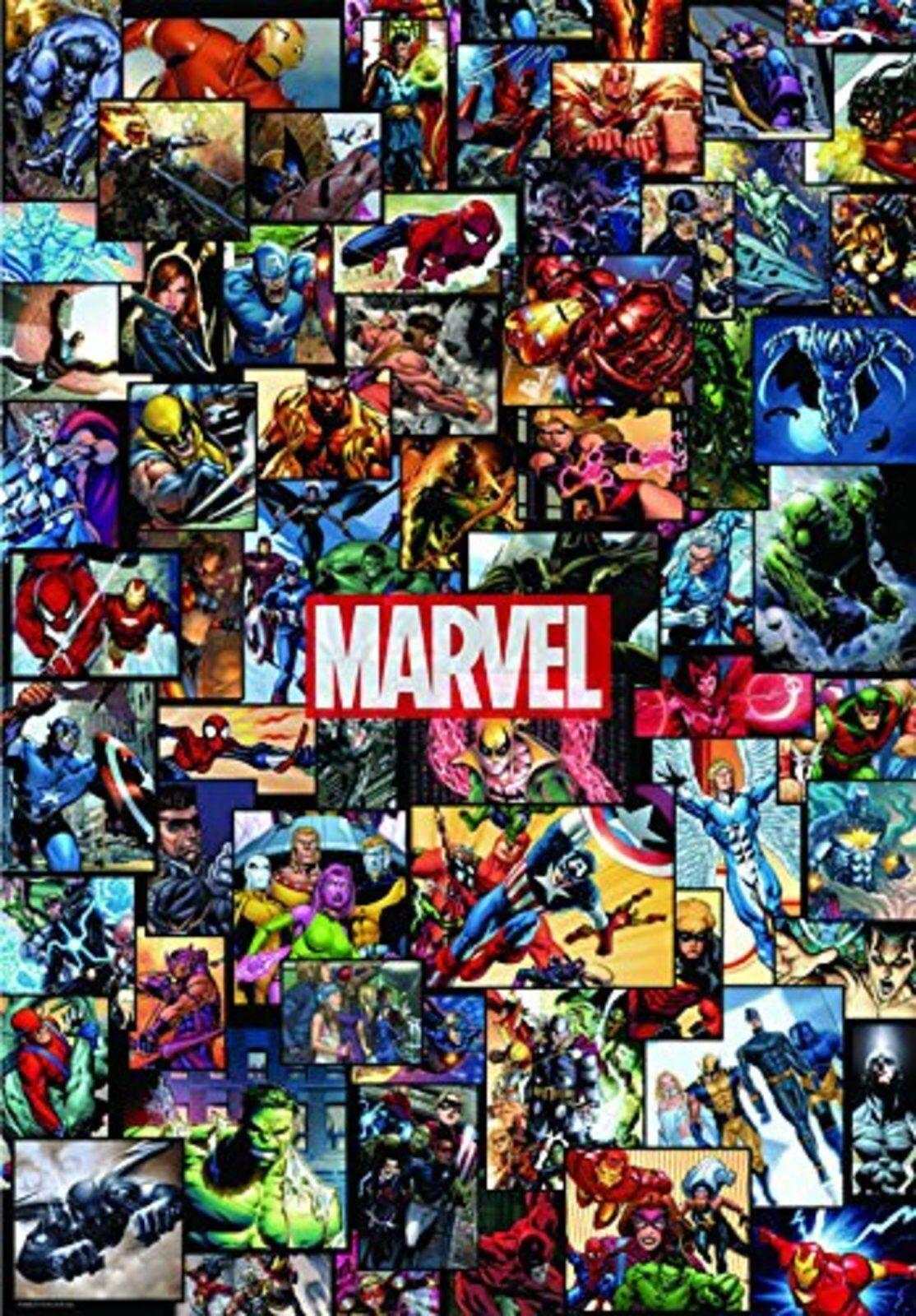 Marvel Universe 1,000 Piece Jigsaw Puzzle (51x73.5cm) F S  avec Nº de suivi Japan nouveau  avec 60% de réduction