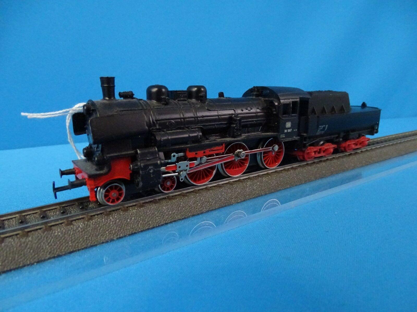 Marklin 3098 DB Steamer with Tender Br 38  nero DIGITAL